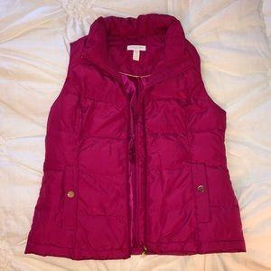 Charter Club pink vest